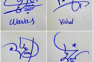 Different Types Of Signature For My Name