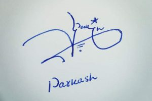 Parkash Name Signature Style