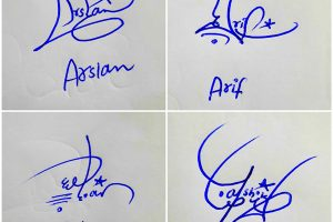 Short Signature Of My Name